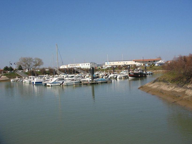 Charente maritime - Port de meschers ...